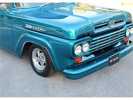 Picture of 1959 Ford F100 located in Lakeland Florida - $29,500.00 Offered by MJC Classic Cars - QAHS