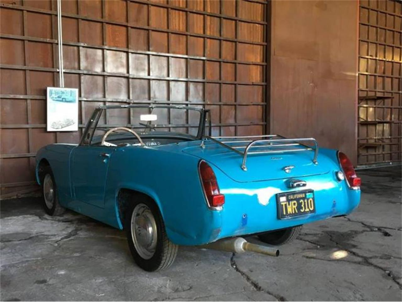 Large Picture of 1965 Austin-Healey Sprite Mark III located in California - $8,950.00 Offered by Sports Car LA - Q5ER