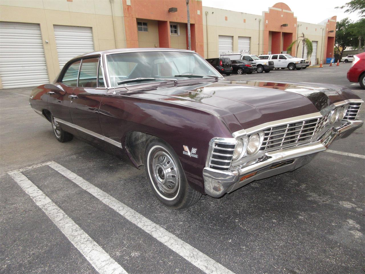 Large Picture of Classic 1967 Chevrolet Impala located in Florida - $40,000.00 - QAJV