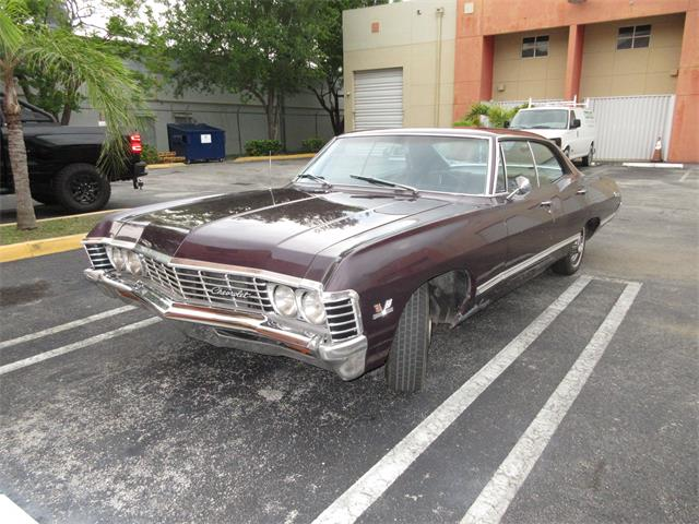 Picture of Classic 1967 Impala located in Miami Florida - $40,000.00 Offered by a Private Seller - QAJV