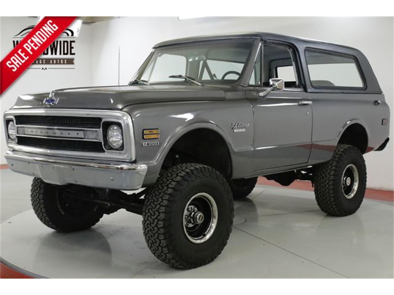 Large Picture of Classic 1970 Chevrolet Blazer located in Colorado - $28,900.00 Offered by Worldwide Vintage Autos - QAK6