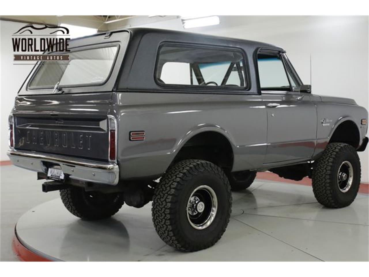 Large Picture of 1970 Chevrolet Blazer located in Colorado Offered by Worldwide Vintage Autos - QAK6