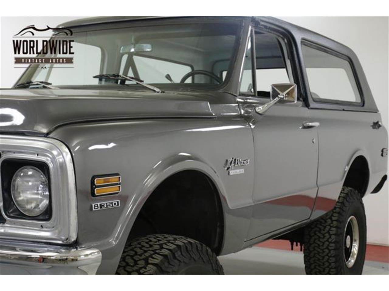 Large Picture of 1970 Chevrolet Blazer located in Denver  Colorado - QAK6