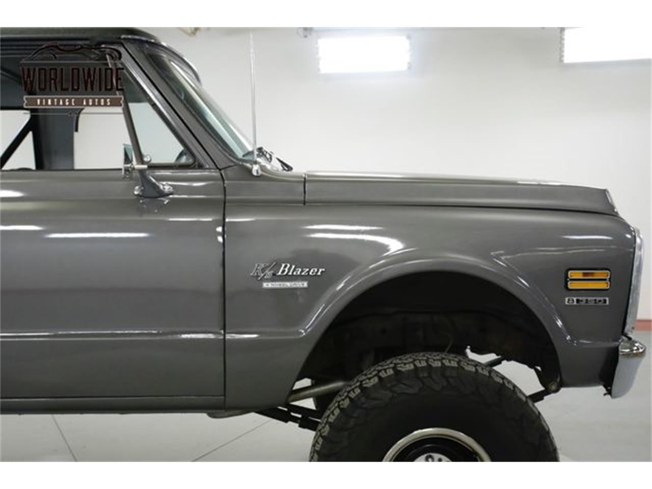 Large Picture of 1970 Chevrolet Blazer located in Denver  Colorado Offered by Worldwide Vintage Autos - QAK6