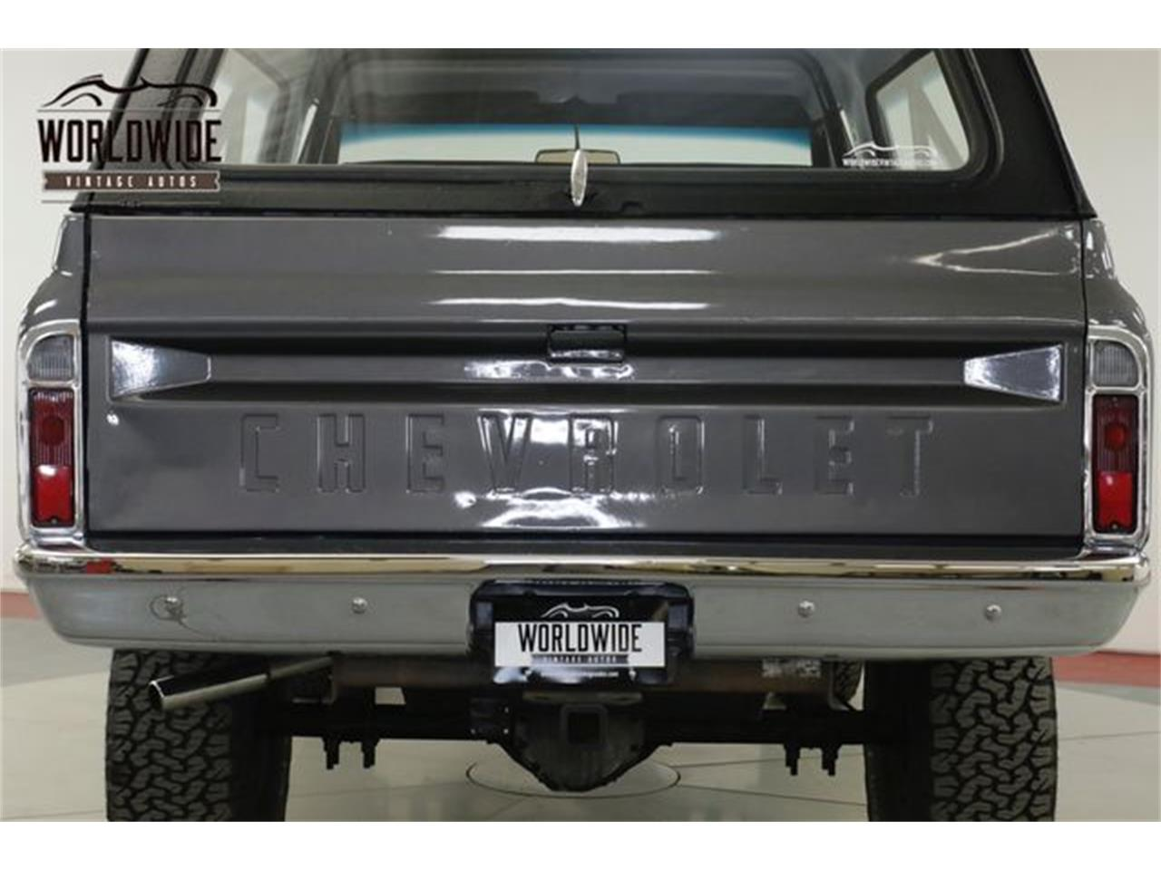 Large Picture of '70 Chevrolet Blazer - $28,900.00 Offered by Worldwide Vintage Autos - QAK6