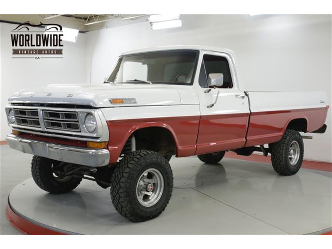 Large Picture of 1972 F100 located in Colorado - $11,900.00 Offered by Worldwide Vintage Autos - QAKU