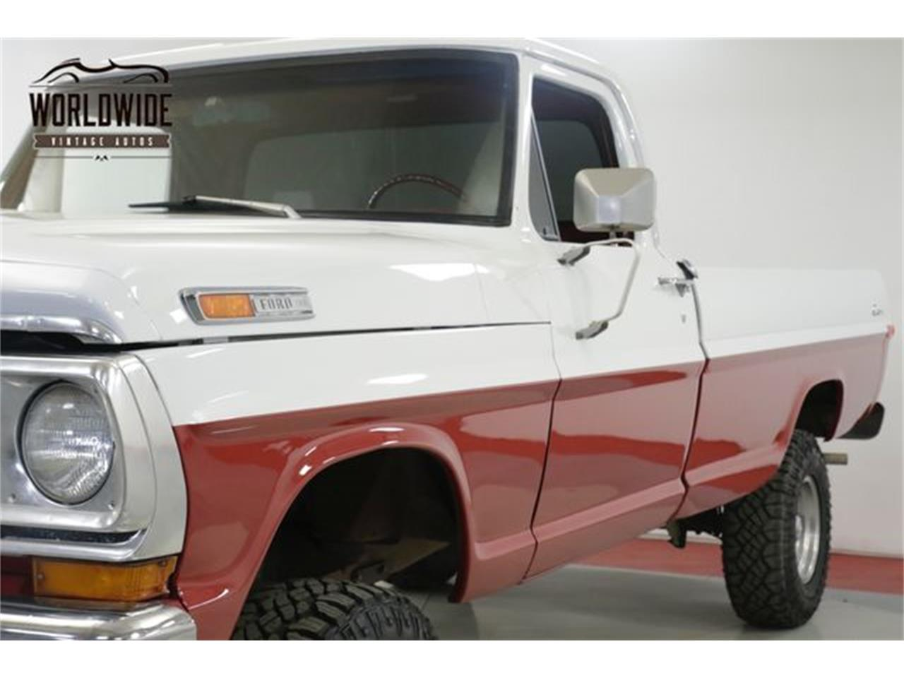 Large Picture of 1972 F100 located in Denver  Colorado - QAKU