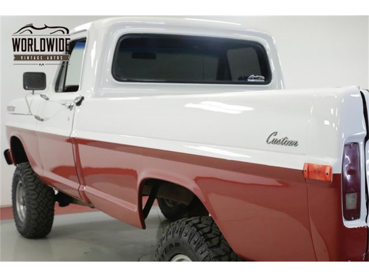 Large Picture of Classic '72 F100 located in Denver  Colorado - $11,900.00 Offered by Worldwide Vintage Autos - QAKU