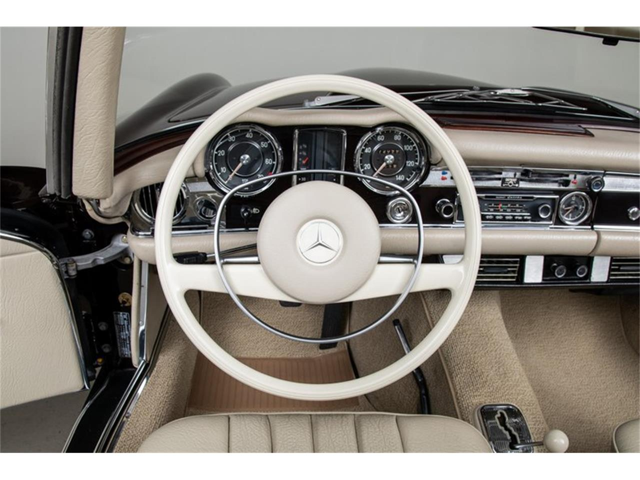 Large Picture of 1969 280SL Auction Vehicle Offered by Canepa - QALE