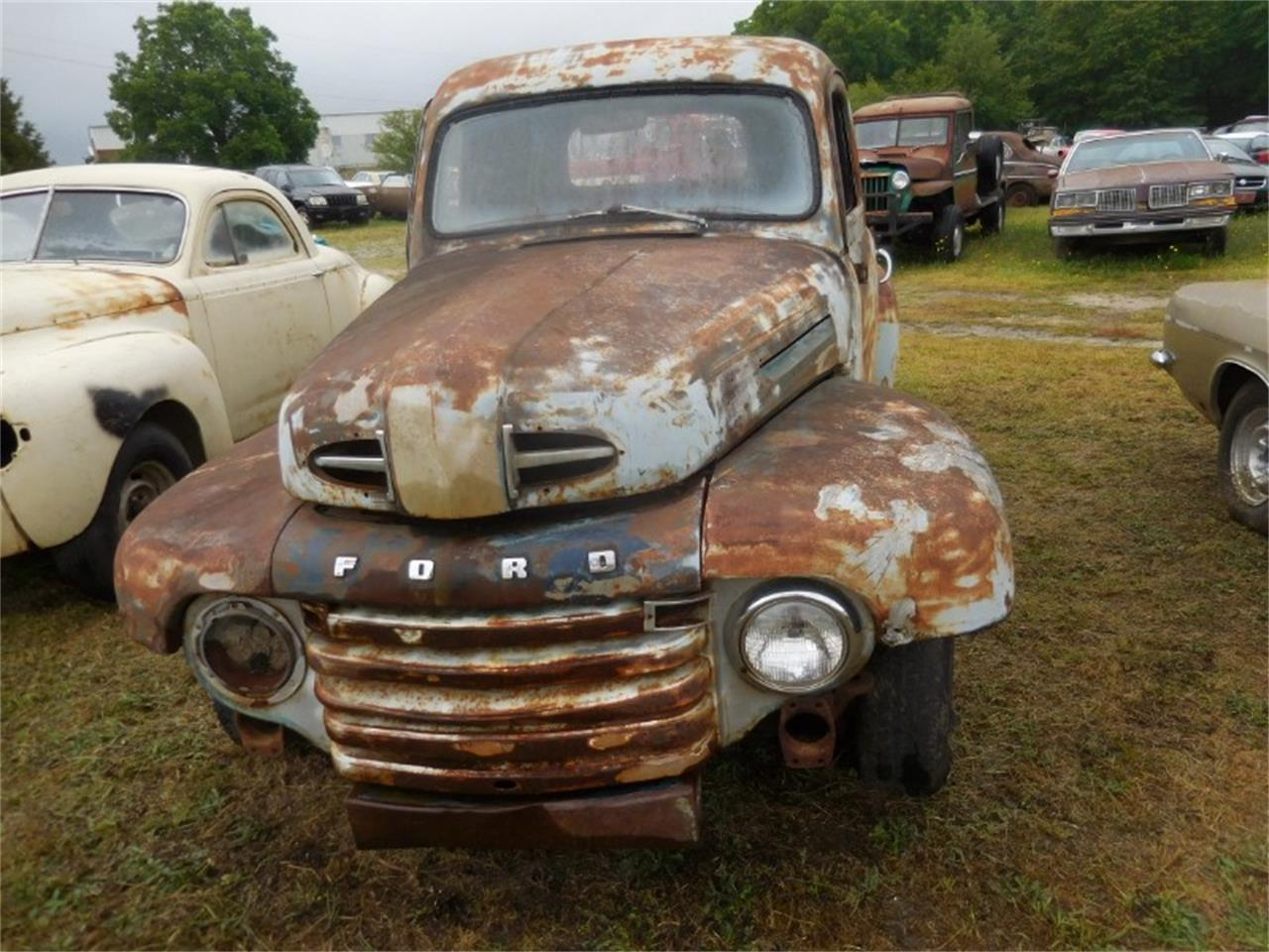 Large Picture of Classic 1949 F100 - $2,000.00 Offered by Classic Cars of South Carolina - QALJ