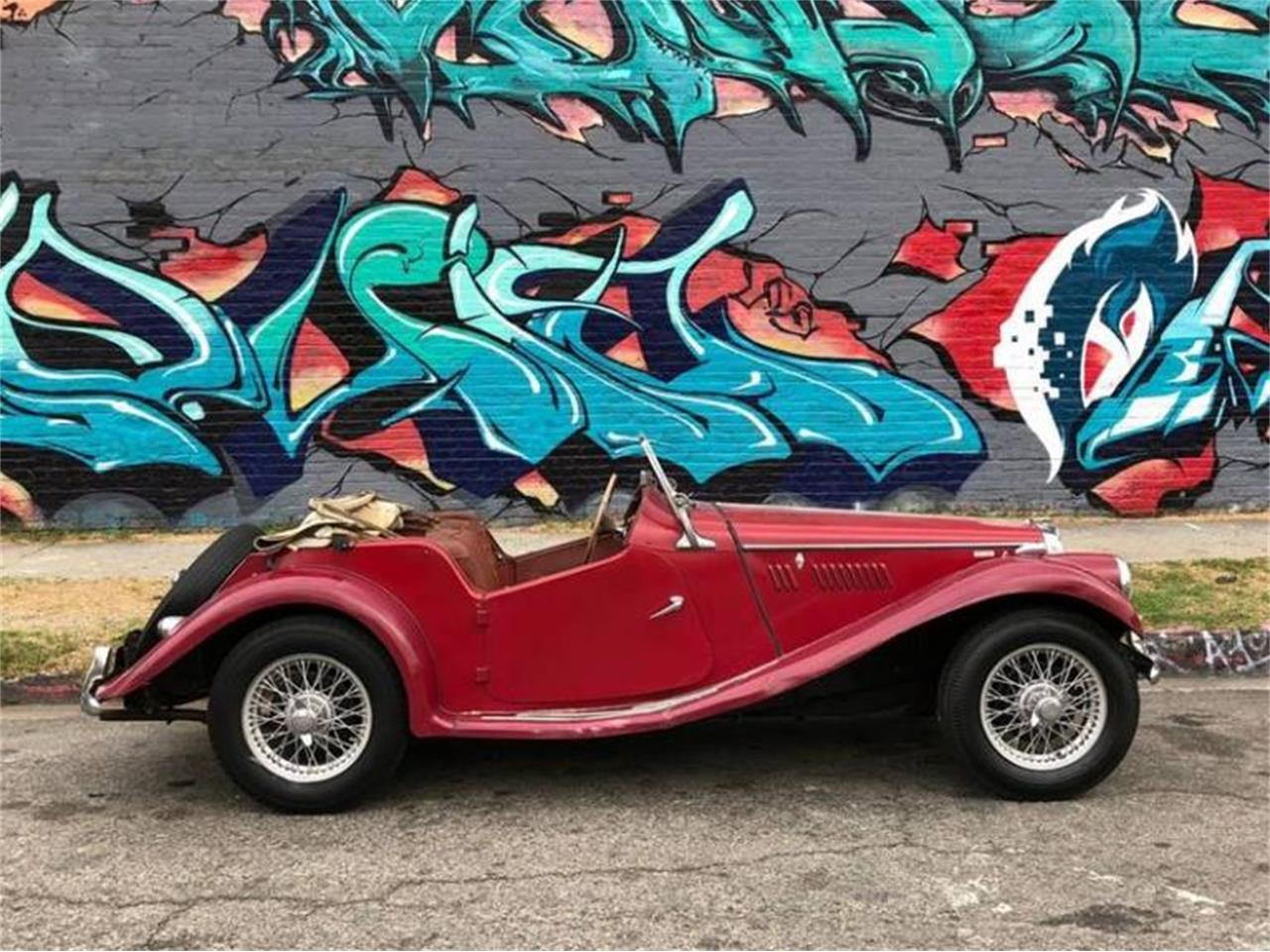 Large Picture of Classic '55 MG TF located in Los Angeles California - Q5ES
