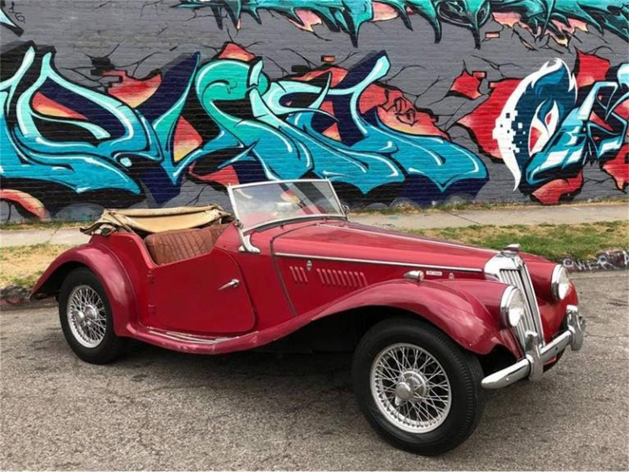Large Picture of Classic 1955 MG TF located in Los Angeles California - Q5ES