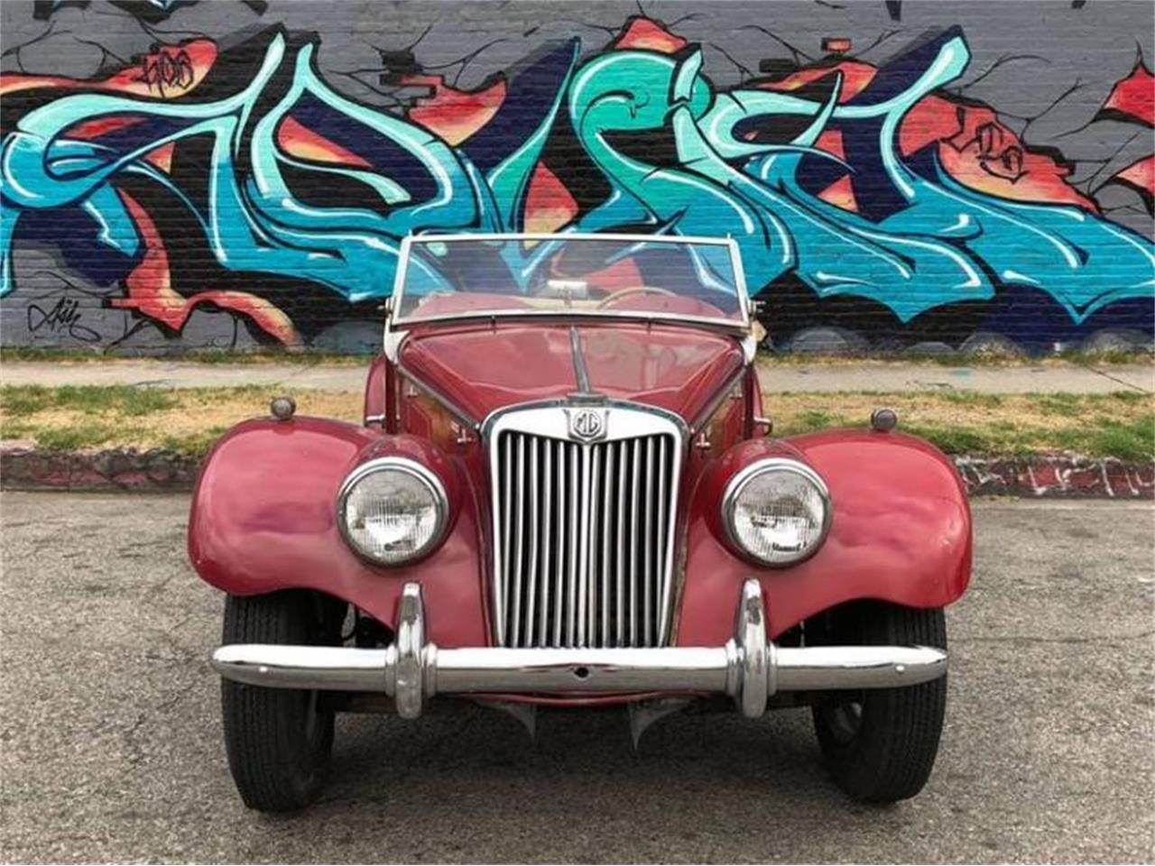 Large Picture of Classic '55 MG TF Offered by Sports Car LA - Q5ES