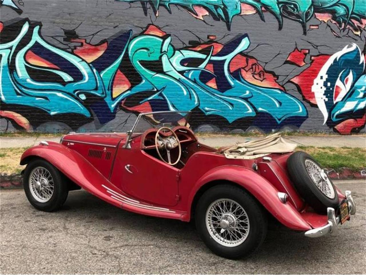 Large Picture of Classic 1955 MG TF located in Los Angeles California Offered by Sports Car LA - Q5ES