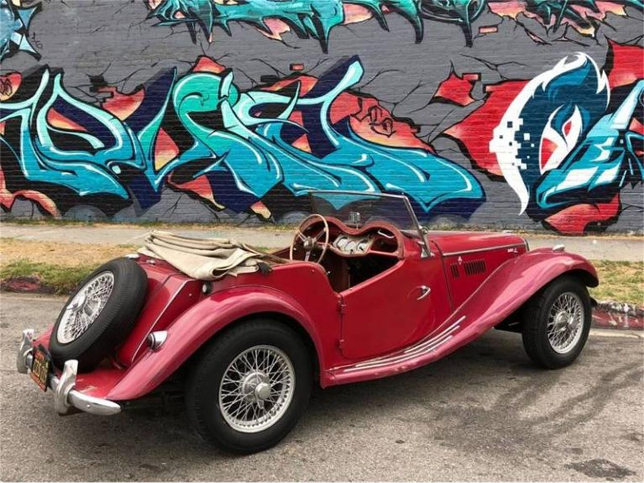 Large Picture of '55 MG TF located in California - $22,500.00 Offered by Sports Car LA - Q5ES
