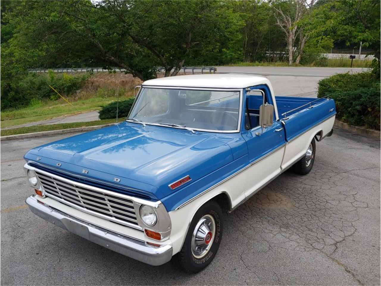 Large Picture of Classic '67 Ford F100 located in Cookeville Tennessee - $17,200.00 Offered by Vintage Planet - QANN