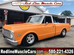 Picture of '72 Chevrolet 1/2-Ton Pickup located in Oklahoma - $35,000.00 Offered by Red Line Auto Sports - QAO1