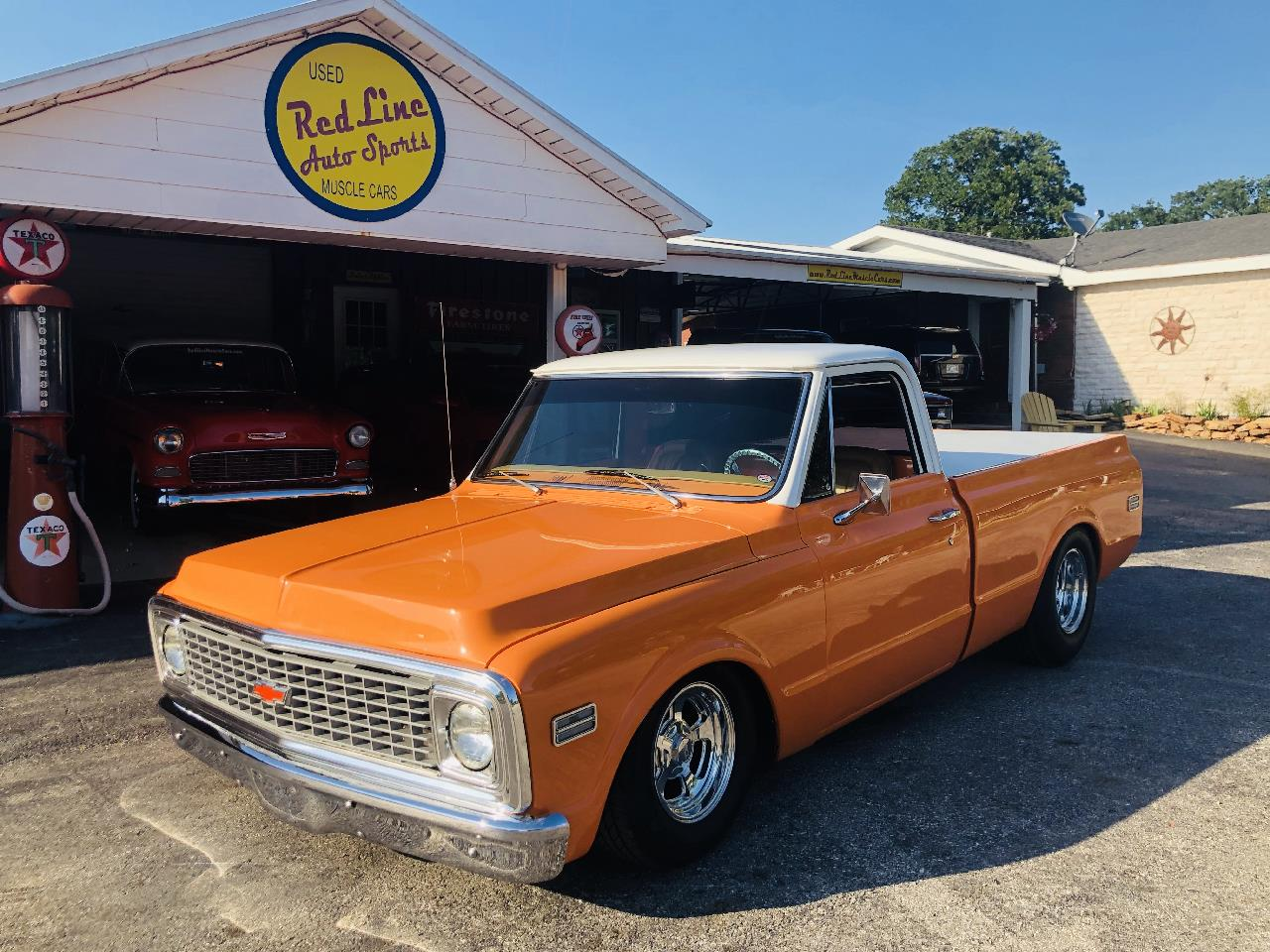 Large Picture of Classic '72 Chevrolet 1/2-Ton Pickup Offered by Red Line Auto Sports - QAO1
