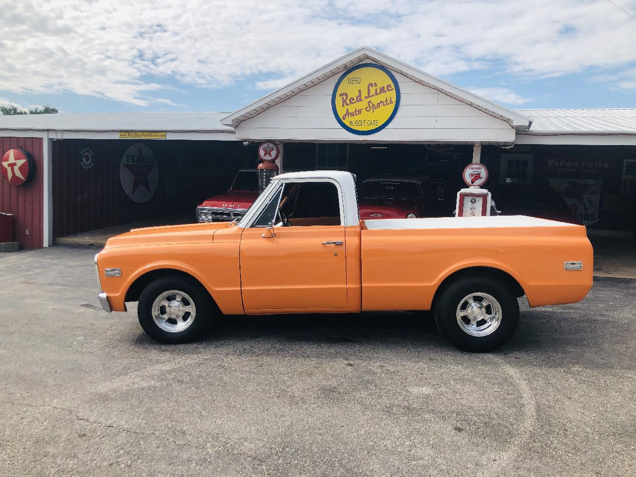 Large Picture of '72 1/2-Ton Pickup located in Wilson Oklahoma - $35,000.00 Offered by Red Line Auto Sports - QAO1