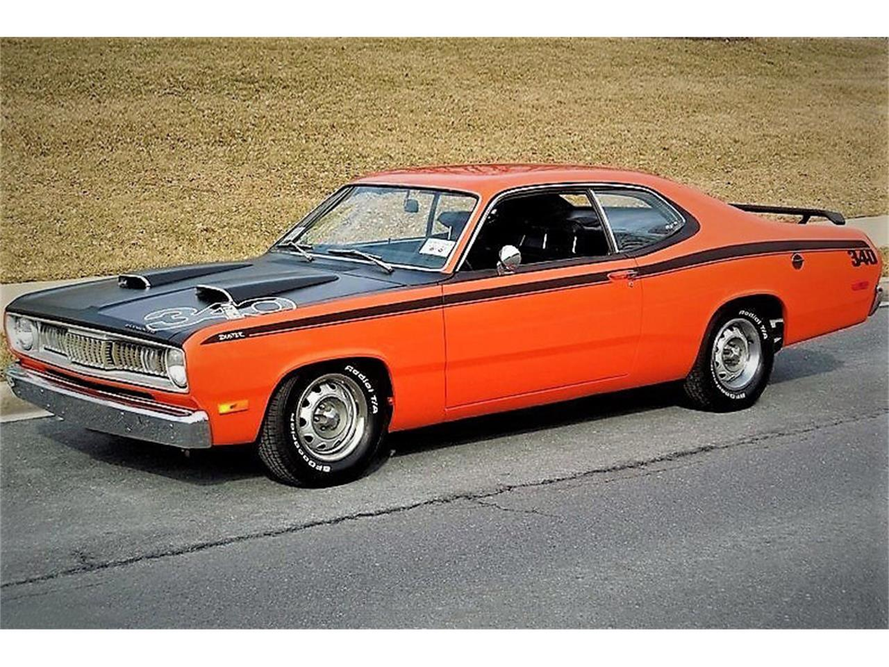 Large Picture of Classic '72 Plymouth Duster located in Uncasville Connecticut Offered by Barrett-Jackson - QASE