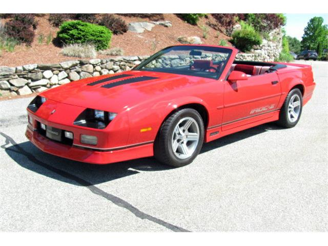 Picture of '89 Camaro IROC Z28 - QASS