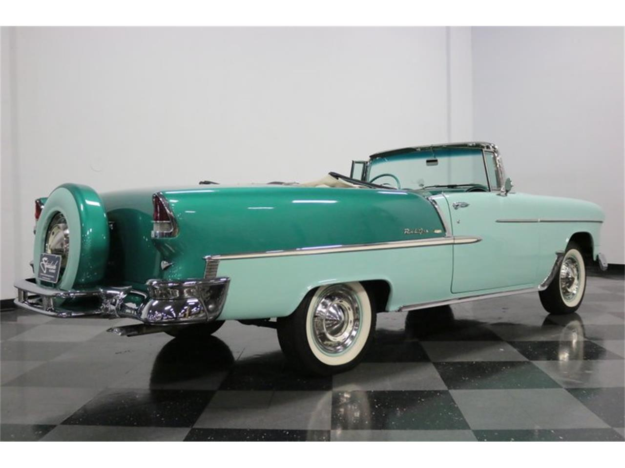 Large Picture of 1955 Bel Air located in Ft Worth Texas - $76,995.00 Offered by Streetside Classics - Dallas / Fort Worth - QAW8