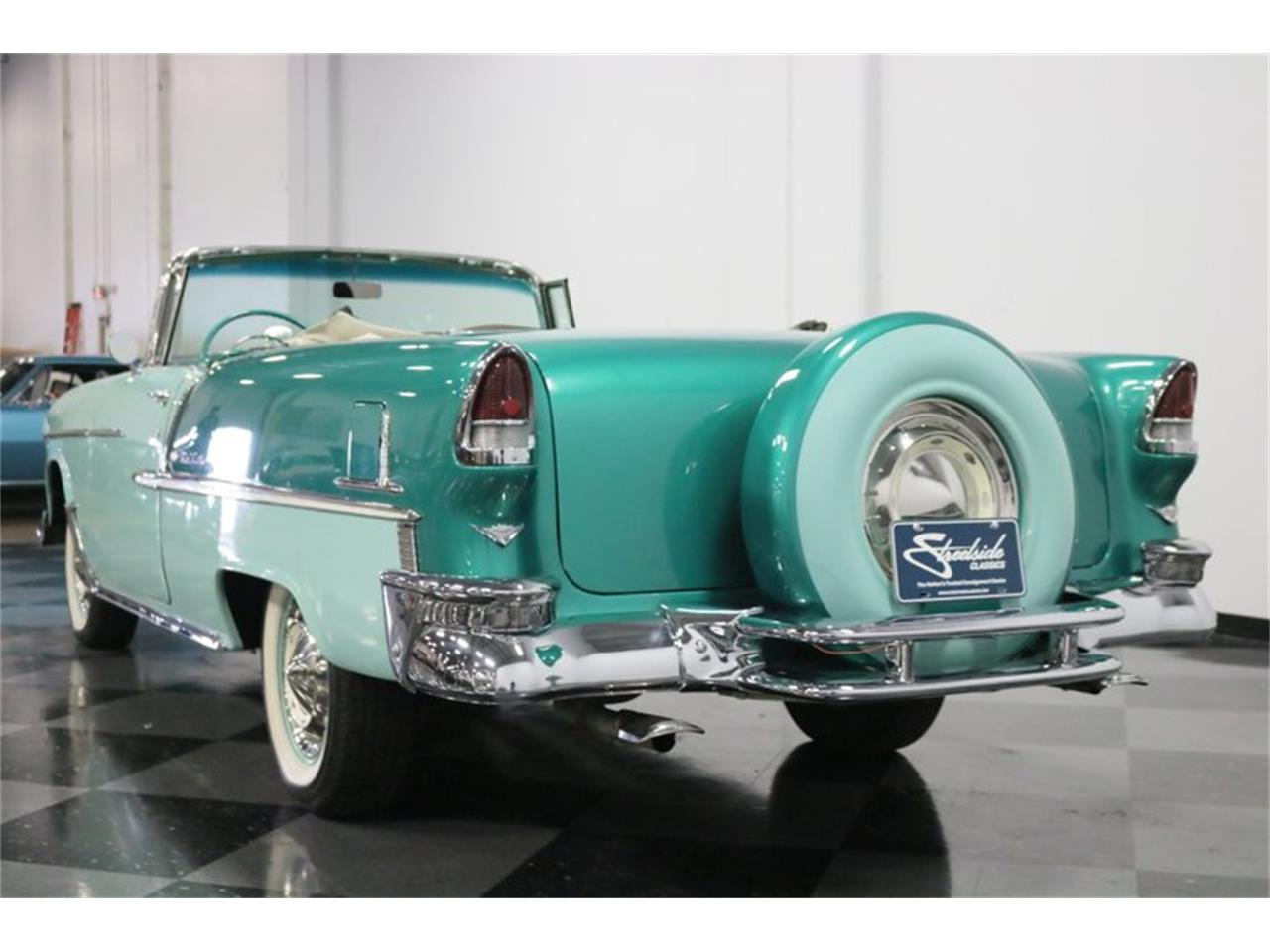 Large Picture of Classic '55 Bel Air Offered by Streetside Classics - Dallas / Fort Worth - QAW8