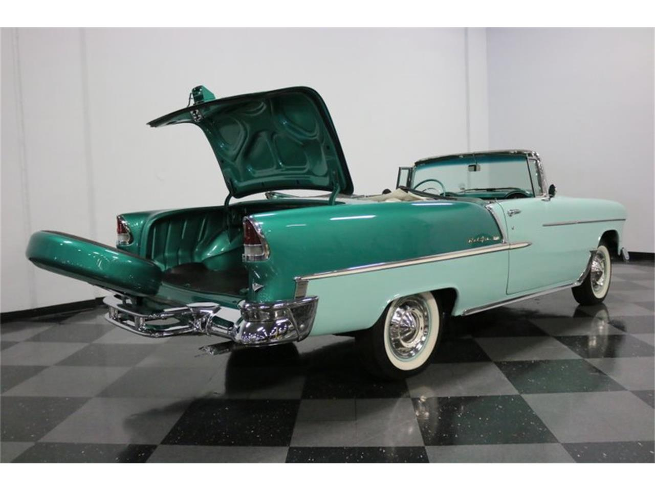 Large Picture of 1955 Chevrolet Bel Air located in Texas - $76,995.00 Offered by Streetside Classics - Dallas / Fort Worth - QAW8