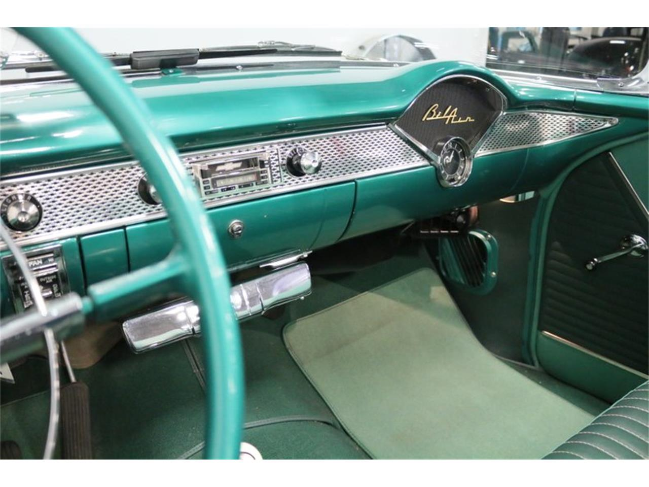 Large Picture of Classic '55 Bel Air located in Texas Offered by Streetside Classics - Dallas / Fort Worth - QAW8