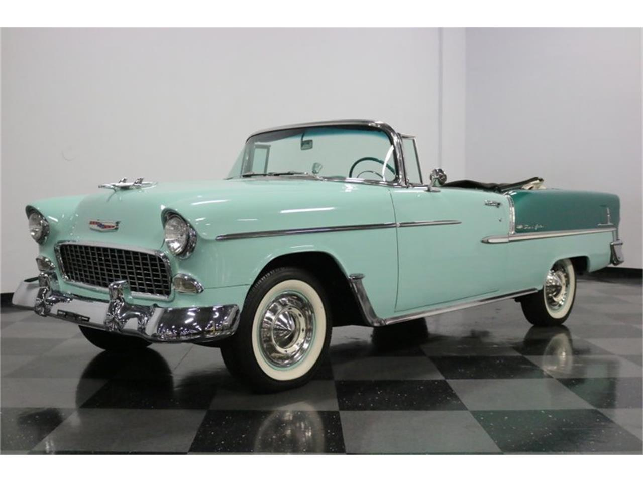 Large Picture of '55 Bel Air located in Ft Worth Texas - QAW8