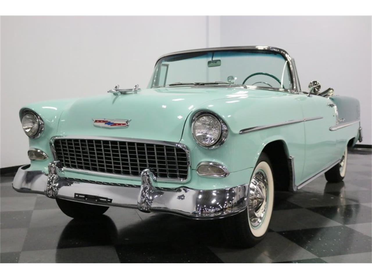 Large Picture of Classic '55 Bel Air - $76,995.00 Offered by Streetside Classics - Dallas / Fort Worth - QAW8
