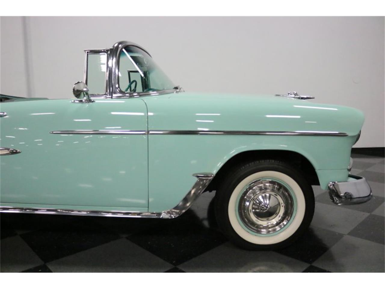 Large Picture of 1955 Bel Air located in Texas Offered by Streetside Classics - Dallas / Fort Worth - QAW8