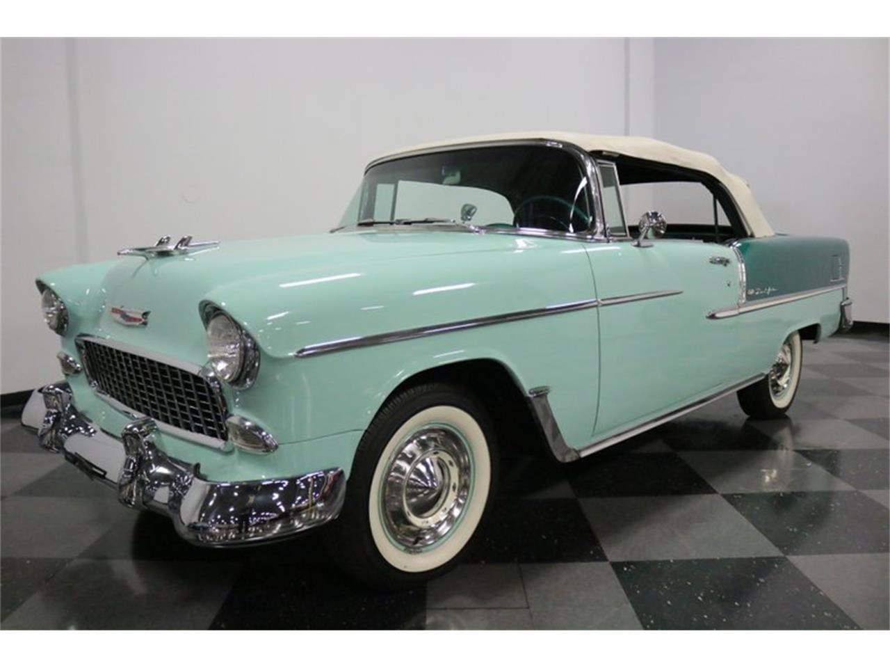 Large Picture of Classic 1955 Chevrolet Bel Air Offered by Streetside Classics - Dallas / Fort Worth - QAW8