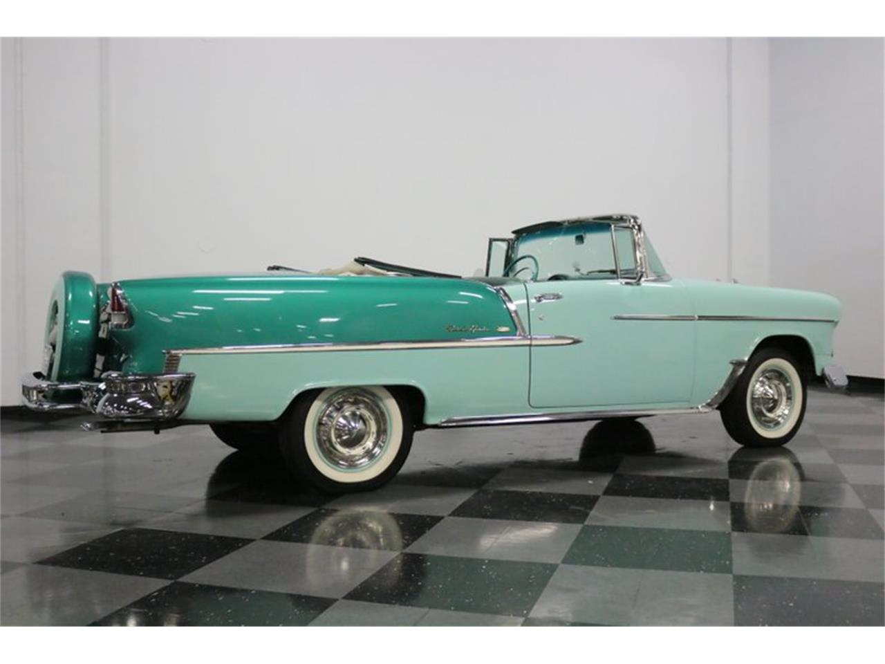 Large Picture of 1955 Bel Air located in Ft Worth Texas Offered by Streetside Classics - Dallas / Fort Worth - QAW8