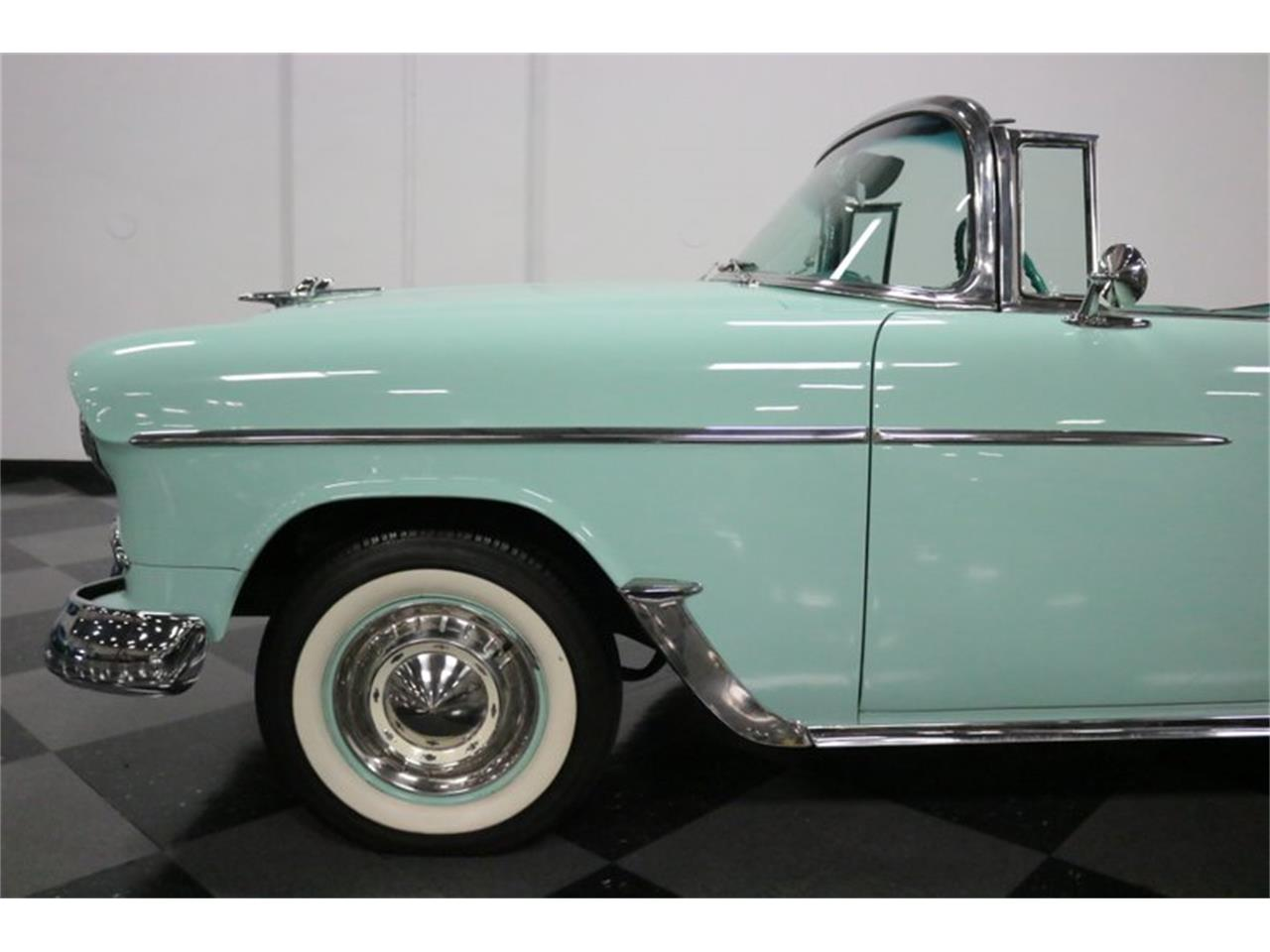Large Picture of Classic '55 Chevrolet Bel Air located in Texas - $76,995.00 Offered by Streetside Classics - Dallas / Fort Worth - QAW8
