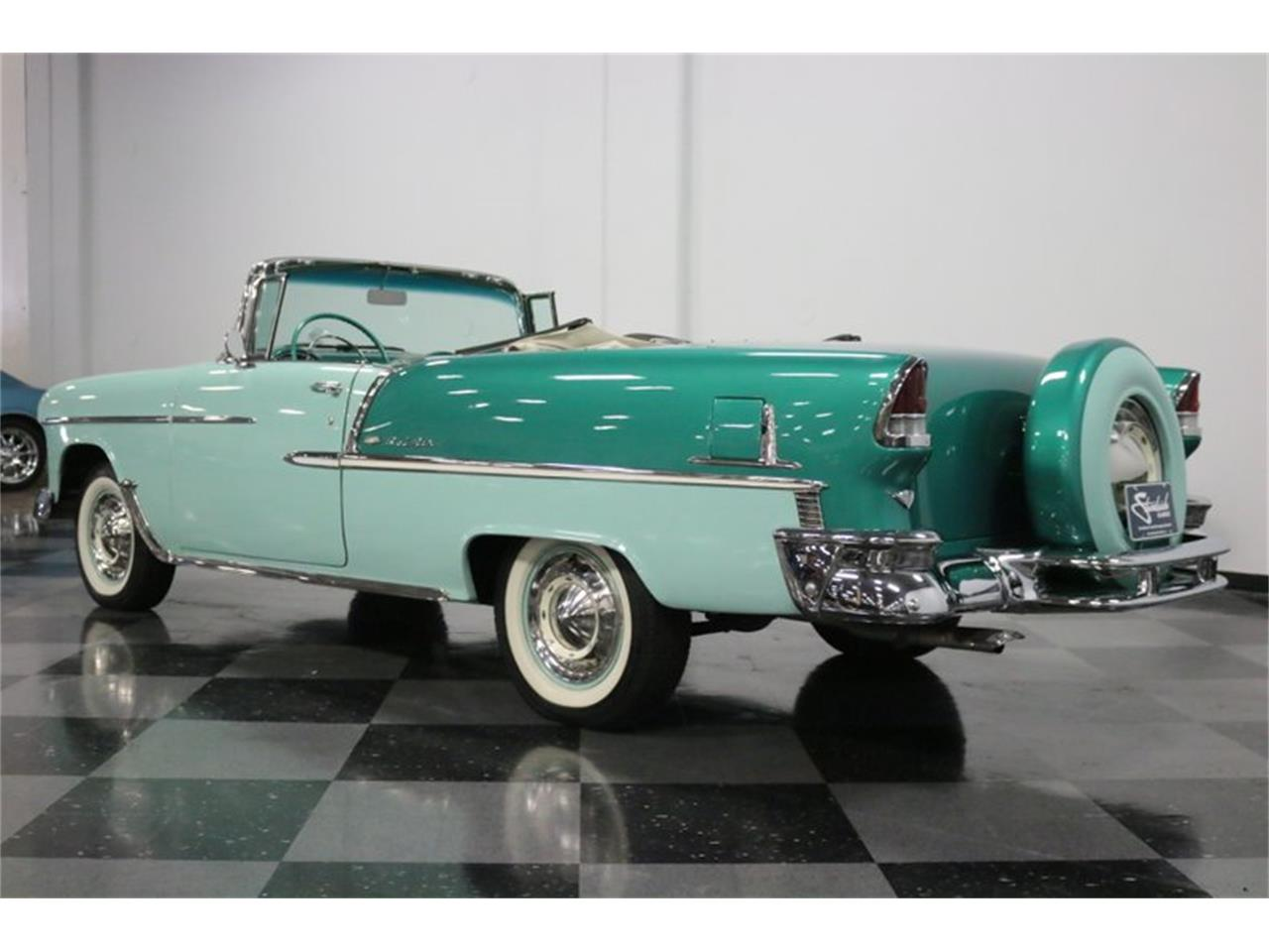 Large Picture of 1955 Chevrolet Bel Air - $76,995.00 Offered by Streetside Classics - Dallas / Fort Worth - QAW8