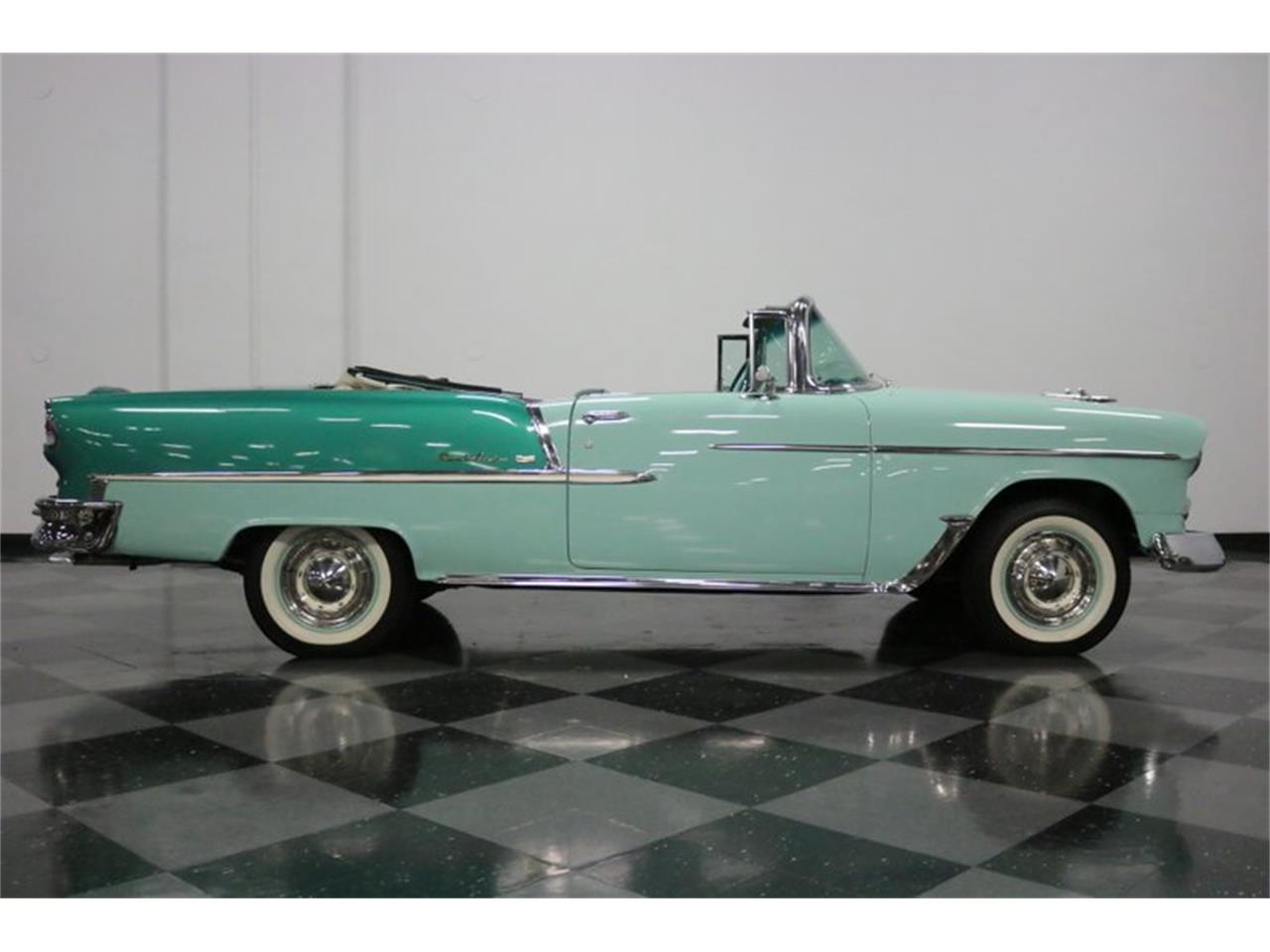 Large Picture of 1955 Chevrolet Bel Air located in Ft Worth Texas - $76,995.00 Offered by Streetside Classics - Dallas / Fort Worth - QAW8