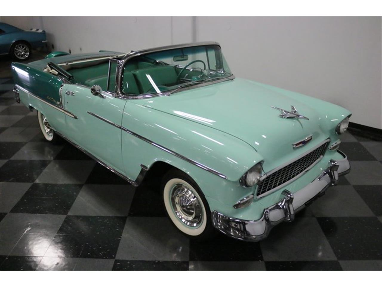 Large Picture of Classic '55 Chevrolet Bel Air located in Ft Worth Texas Offered by Streetside Classics - Dallas / Fort Worth - QAW8