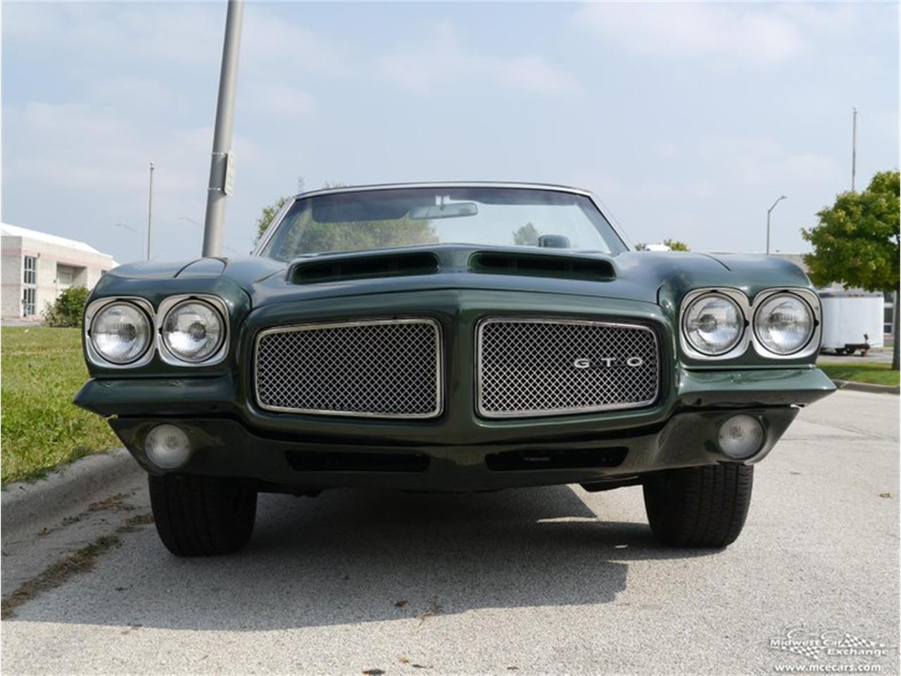 Large Picture of 1971 GTO located in Alsip Illinois - $66,900.00 Offered by Midwest Car Exchange - QAXE