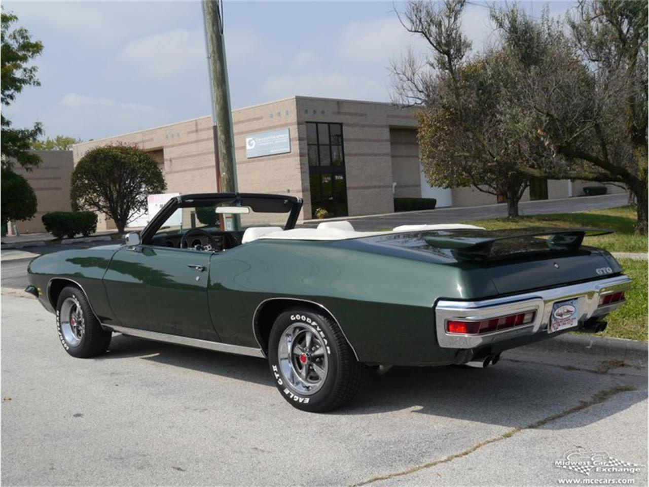 Large Picture of 1971 Pontiac GTO located in Alsip Illinois Offered by Midwest Car Exchange - QAXE