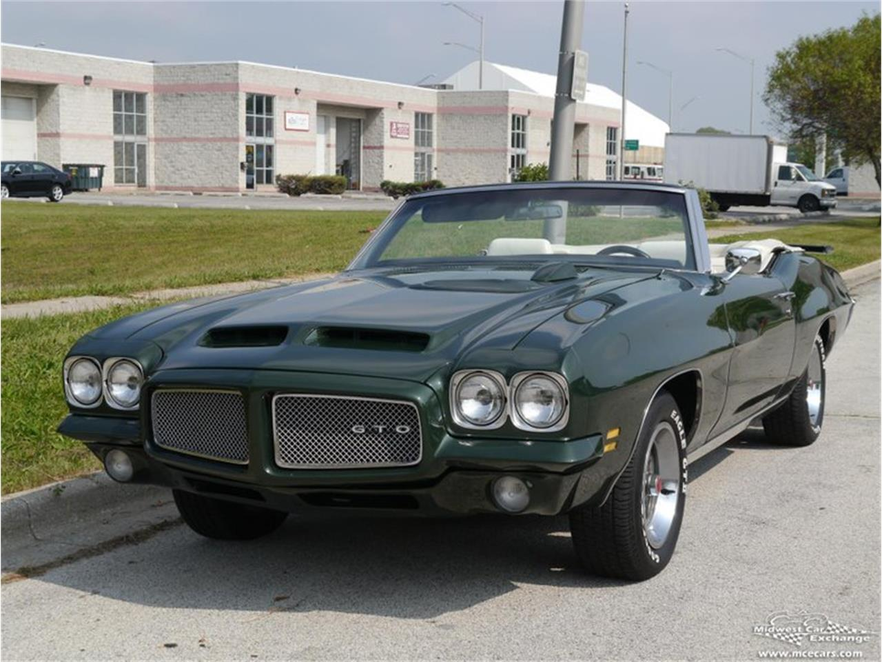 Large Picture of Classic 1971 Pontiac GTO - $66,900.00 Offered by Midwest Car Exchange - QAXE