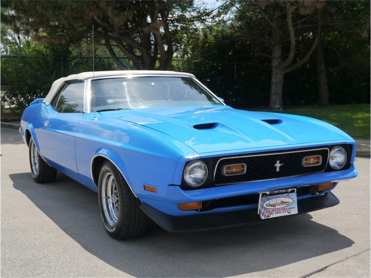 Large Picture of '72 Mustang - QAXH
