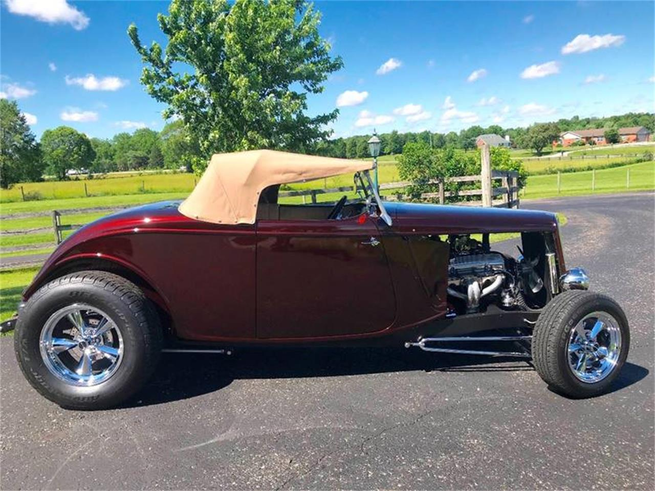 Large Picture of Classic '34 Ford Roadster located in Knightstown Indiana - QB1O