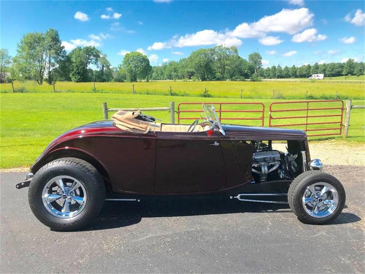 Large Picture of Classic 1934 Ford Roadster located in Indiana - $34,900.00 Offered by 500 Classic Auto Sales - QB1O