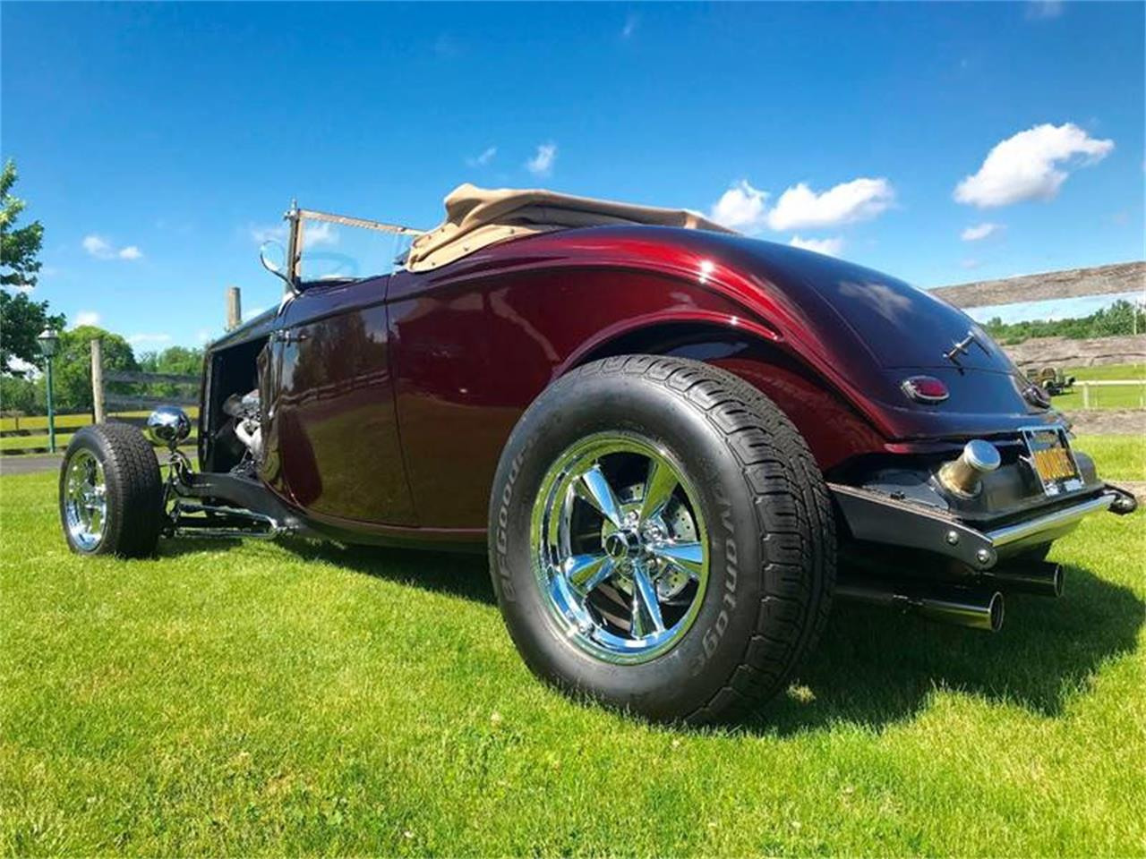 Large Picture of 1934 Ford Roadster located in Knightstown Indiana - QB1O