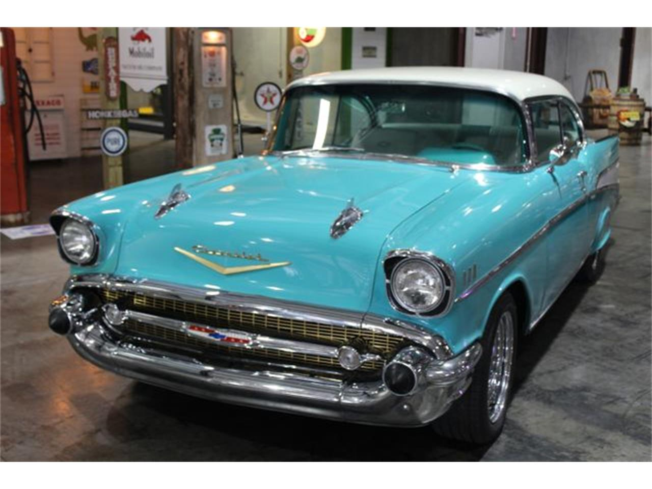 Large Picture of Classic '57 Bel Air Offered by Theiss Motorsports Classics and Customs - QB2T