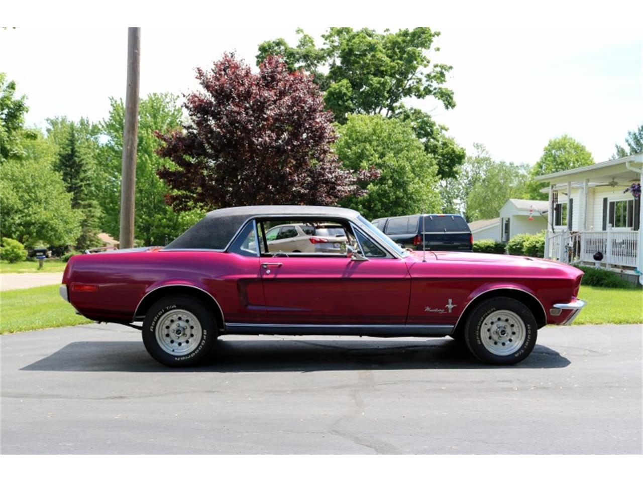 Large Picture of 1968 Mustang Offered by Sleeman's Classic Cars - QB37