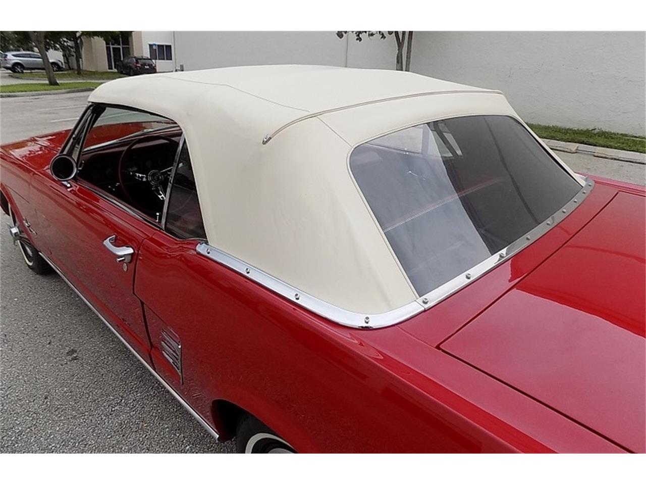 Large Picture of '66 Mustang located in Florida - $28,500.00 Offered by Cool Cars - QB3J