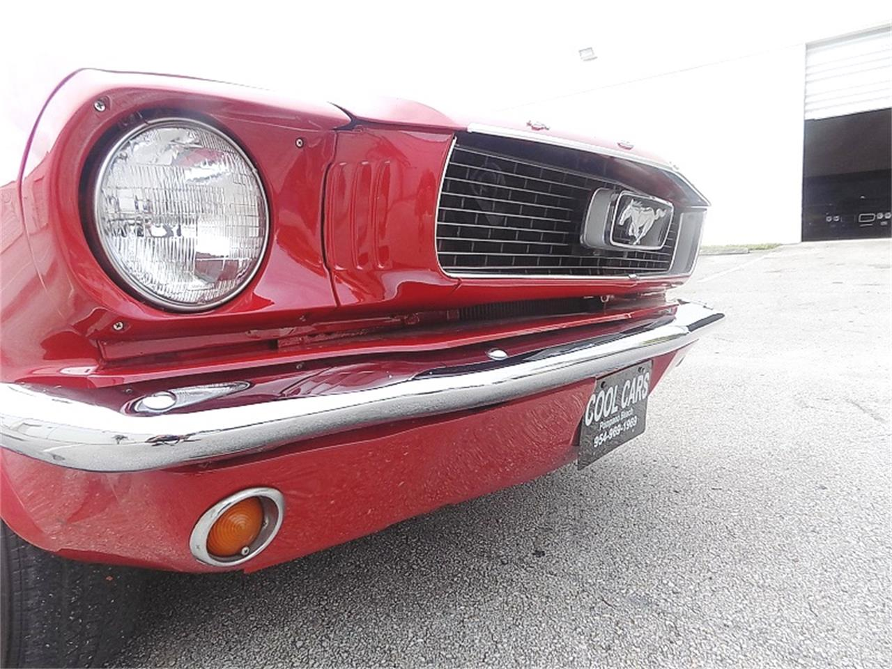 Large Picture of '66 Ford Mustang located in Florida Offered by Cool Cars - QB3J