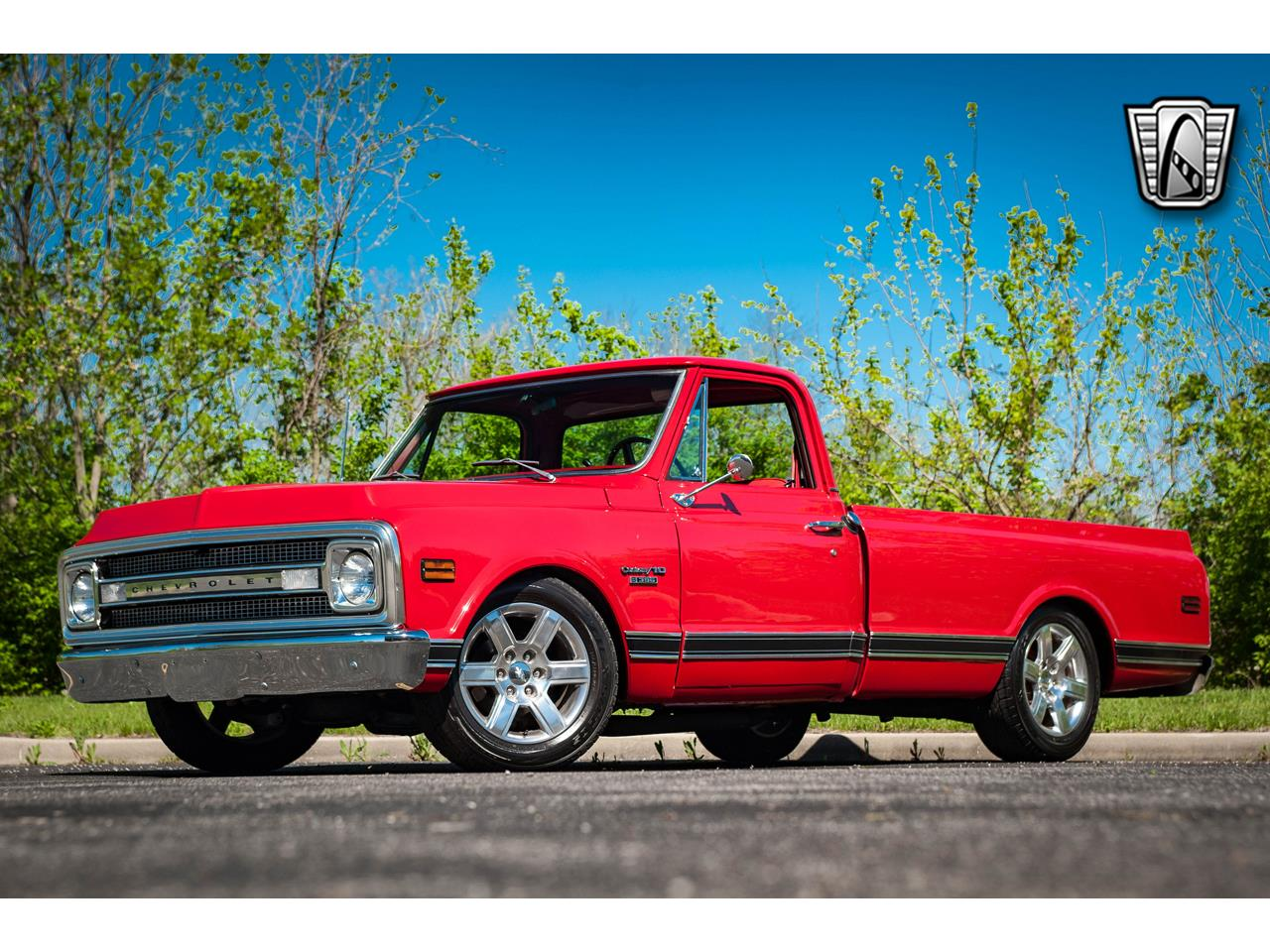 Large Picture of '69 C10 located in Illinois - $44,500.00 Offered by Gateway Classic Cars - St. Louis - QB8I